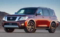 Above: The 2017 Nissan Armada Platinum