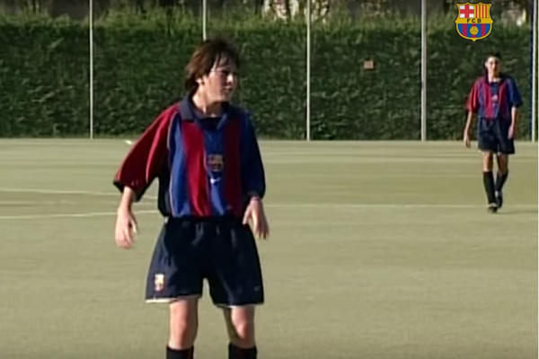 Above: Leo Messi stars in a new compilation video