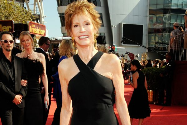 Above: Mary Tyler Moore at the 2008 Emmy Awards