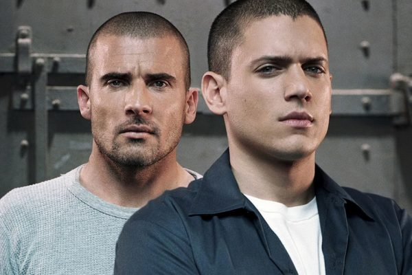 Above: Prison Break's Lincoln Burrows (Dominic Purcell) and Michael Scofield (Wentworth Miller)