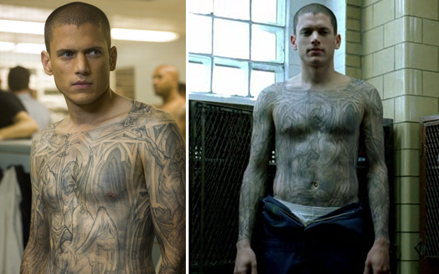 20 Things You Probably Never Knew About Prison Break - Michael Scofield tattoo
