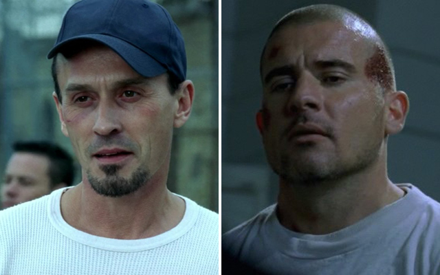 20 Things You Probably Never Knew About Prison Break - T-Bag and Lincoln Burrows