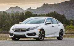 Above: The completely redesigned 2016 Honda Civic