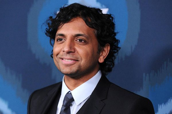 Above: M. Night Shyamalan has made a box office comeback with Split