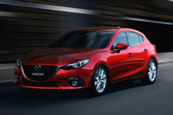 Above: The 2017 Mazda3 Sport GT