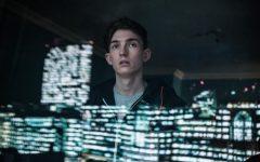 Above: Bill Milner plays a boy turned cyborg vigilante