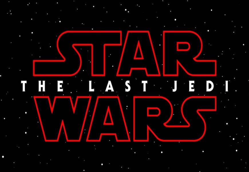 Above: 'The Last Jedi' lands in theatres this December