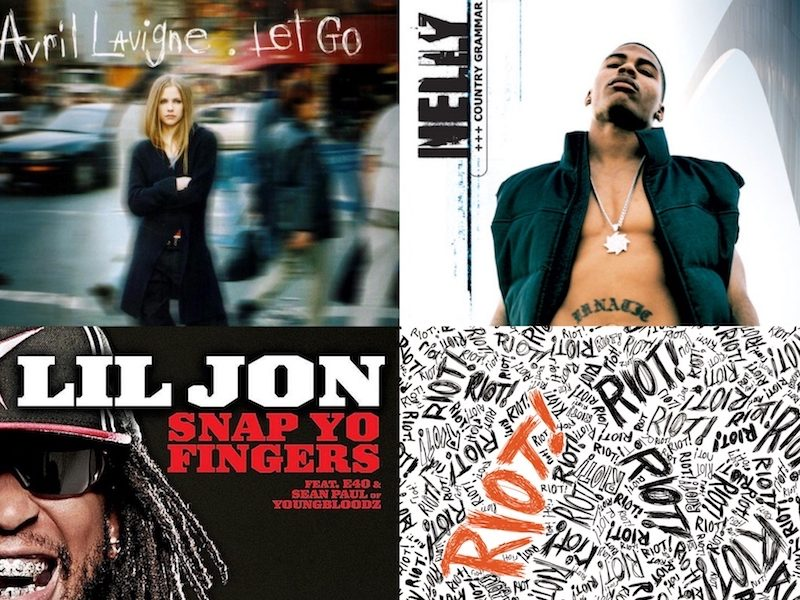 Above: Try your hand at mixing these 2000s classics