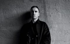 Above: Raf Simons is making his mark with Calvin Klein