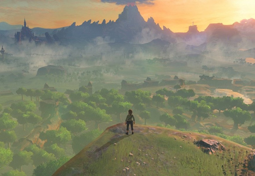 Above: Zelda returns to consoles this March