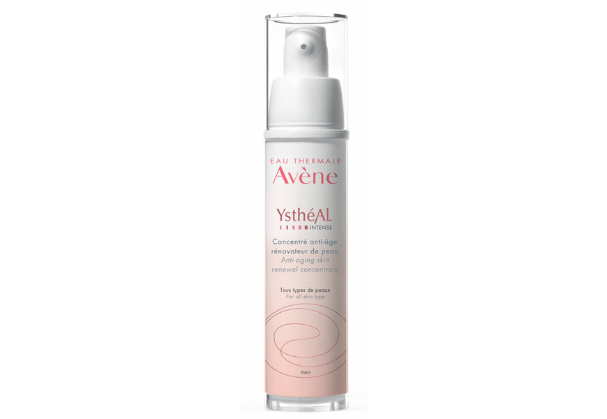 Above: This month? Your must-have product is: Avène YsthéAl Renewal Concentrate Intense