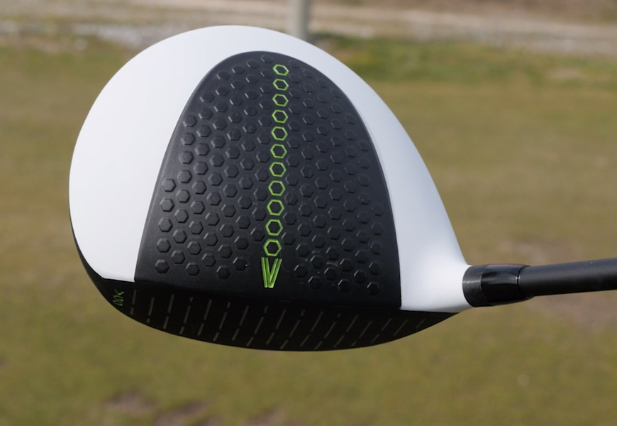 Above: We take Vertical Groove Golf's new driver (with grooves!) for a test drive
