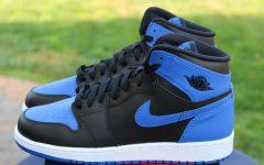 Above: The sweet blue kicks will drop in a few weeks