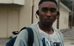 Above: Demetrius Shipp Jr. is Tupac Shakur