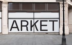 Above: Arket's first location will arrive in London, England