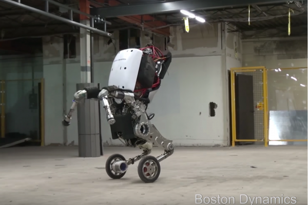 Above: The bipedal machine is changing the way we look at robotics