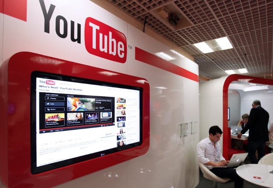 Above: YouTube is hoping to increase its viewership with live capabilities