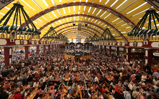 Most Instagrammed Tourist Attractions Around The World - Oktoberfest