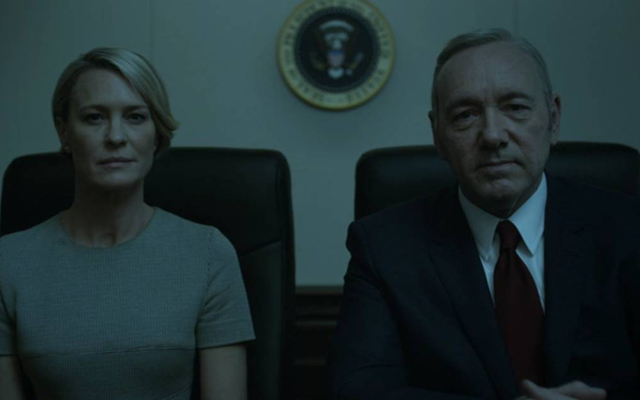 The 10 Most Shocking Moments From House of Cards - Claire breaks the fourth wall