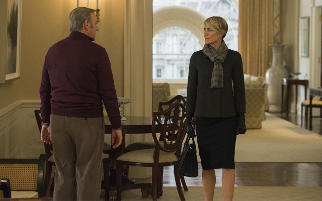 The 10 Most Shocking Moments From House of Cards - Claire leaves Frank