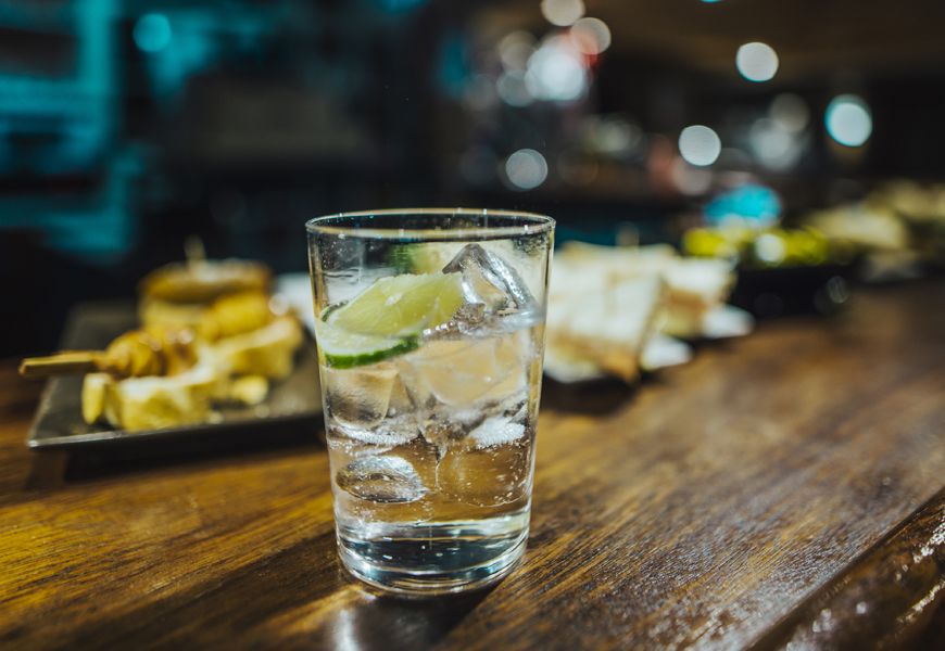 Above: Why should vodka and whiskey get all the attention?