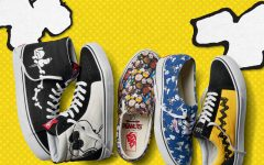 Above: Footwear selections from the 2017 Vans x 'Peanuts' collection