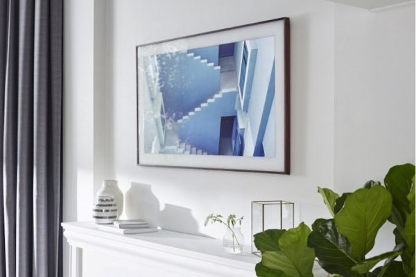 Above: The Frame elevates your interior decor to a new level