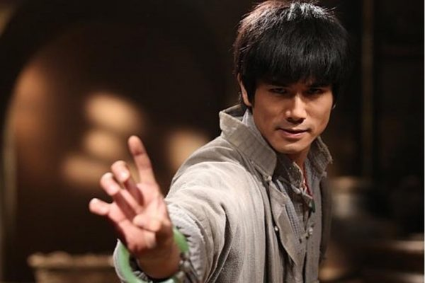 Above: Philip Ng is Bruce Lee in 'Birth of the Dragon'