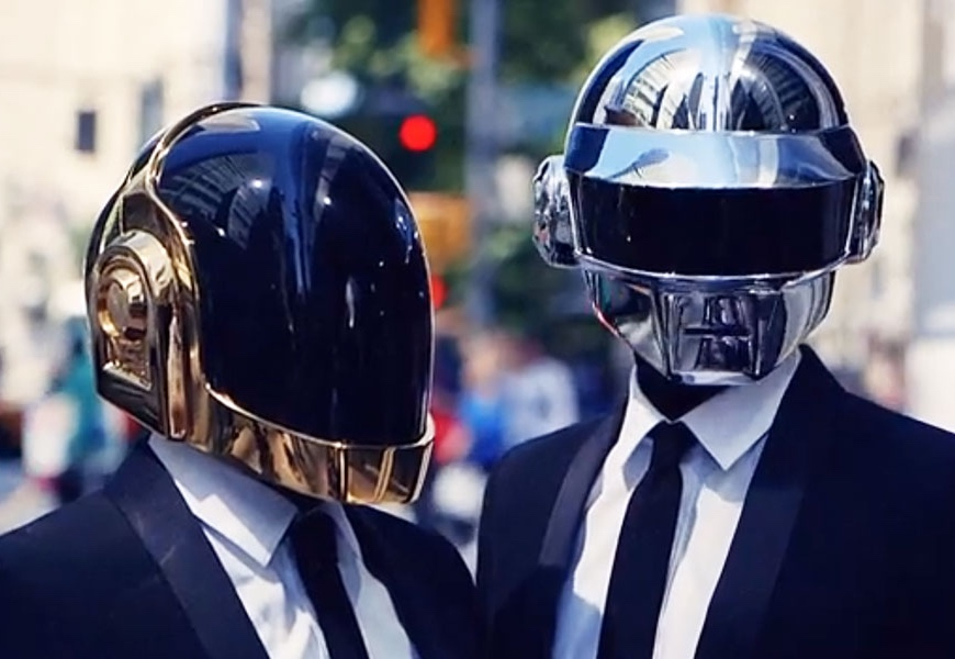 Above: Guy-Manuel de Homem-Christo and Thomas Bangalter.