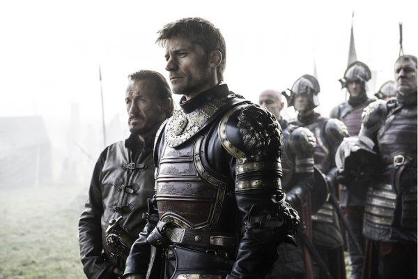 Above: Jaime Lannister confronts a foe