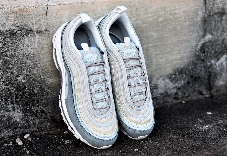 """Above: """"Light Pumice"""" is just one of four new Air Max 97 skins"""
