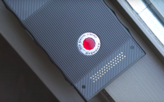 Above: RED's first Hydrogen One model has now surfaced