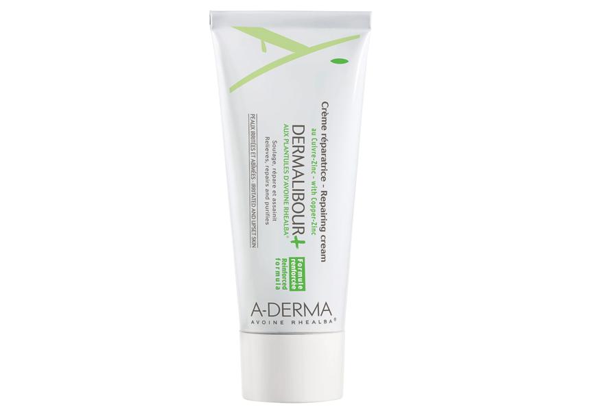 Above: A-Derma's 'Dermalibour+ Repairing Cream'