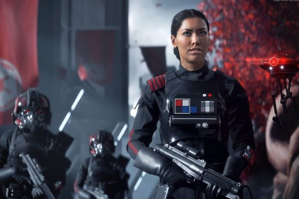Above: Play as Iden Versio in the game's single-player campaign