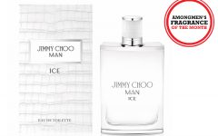 Above: Jimmy Choo Ice Man eau de toilette