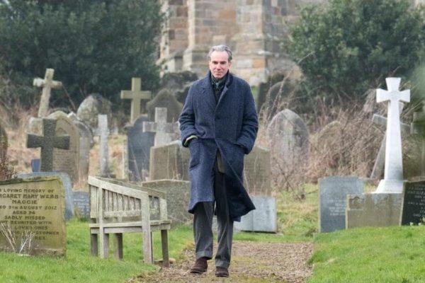 Above: Daniel Day-Lewis in 'Phantom Thread'