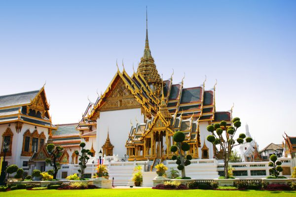 Above: The Royal Palace in Bangkok, Thailand
