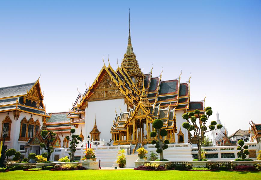 Above: The Royal Palace in Bangkok, Thailand