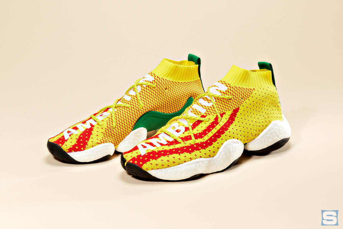 newest 6acca a37db Pharrell Williams and Adidas Launch the Crazy BYW PW Sneaker ...