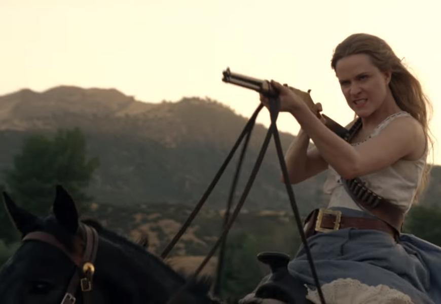 Above: Evan Rachel Wood returns as Dolores Abernathy