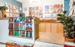 Above: Tiny Record Shop in downtown Toronto