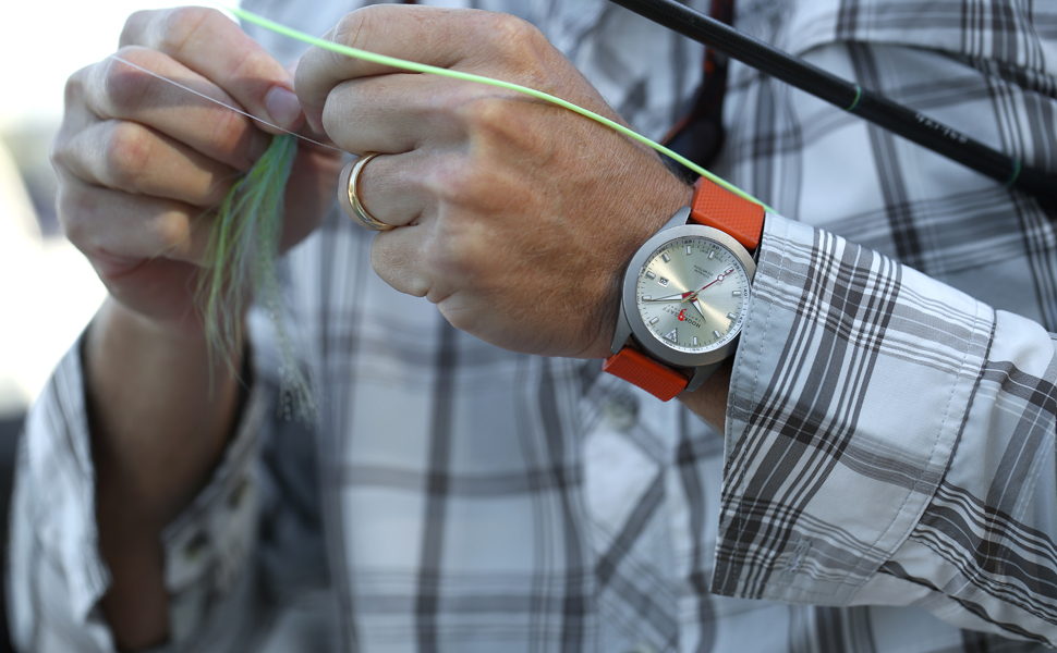 Hook + Gaff:Fishermen & Golfers Have Glommed Onto These Rugged Watches