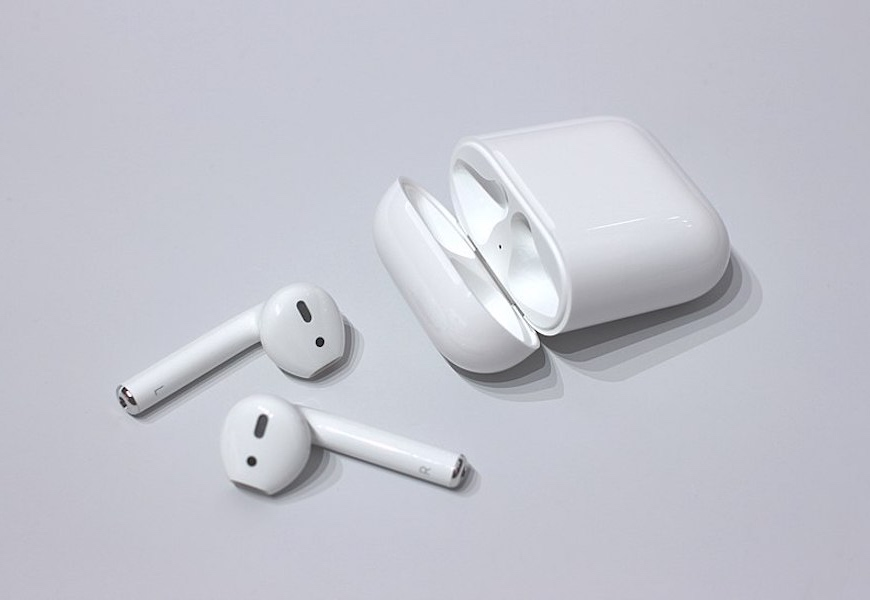 Above: A new version of the AirPods may be in development