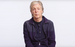 Above: Sir Paul sits down with Wired for a video interview