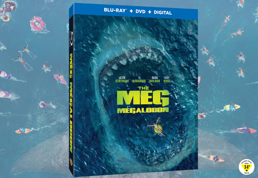 Enter For Your Chance To Win THE MEG On Blu-ray™ [CLOSED