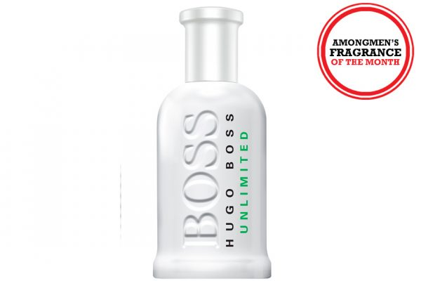 Above: Hugo Boss Bottled Unlimited EDT