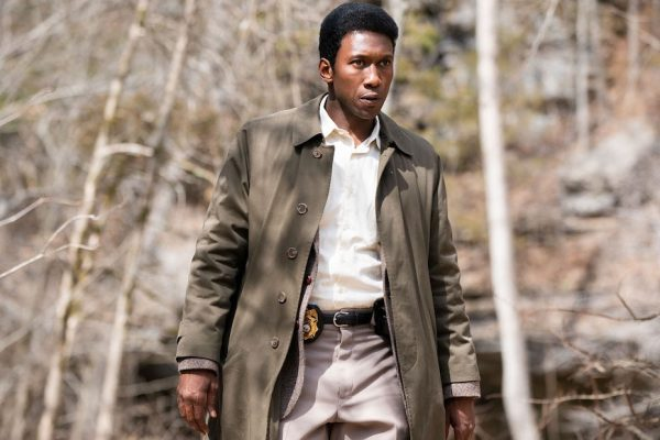 Above: Mahershala Ali as Detective Wayne Hays