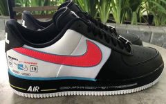 """Above: Your first look at the Air Force 1 """"Racing"""" edition"""