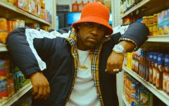 Above: A$AP Ferg shows off his new G-SHOCK piece