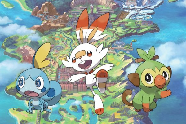 Above: Introducing the game's newest starter Pokémon